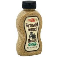 Golding Farms Horseradish Mustard, 12-Ounce (Pack of 3)