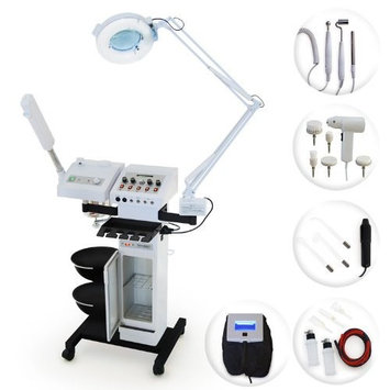 Online Salon Store Esthology Professional Beauty Salon Multifunction Skincare Machine with Ozone Facial Steamer