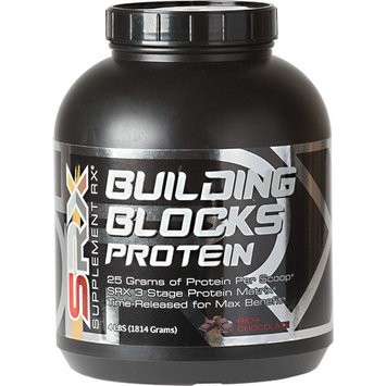 Supplement Rx Building Blocks Protein, Rich Chocolate, 4 lbs (1814 Grams)