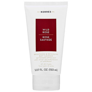 Korres Wild Rose Daily Brightening & Refining Buff Cleanser