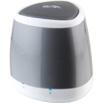 Ilive Blue ISB23S Portable Bluetooth Speaker Silver