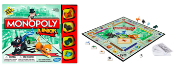 Board games for kids learning to read by Linda C.