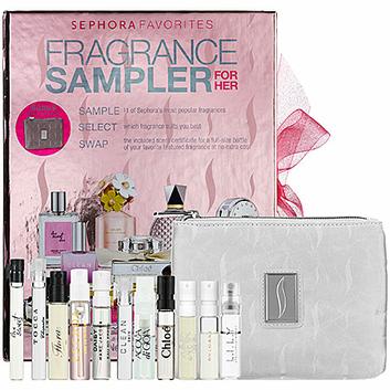 Sephora Favorites Fragrance Deluxe Sampler For Her