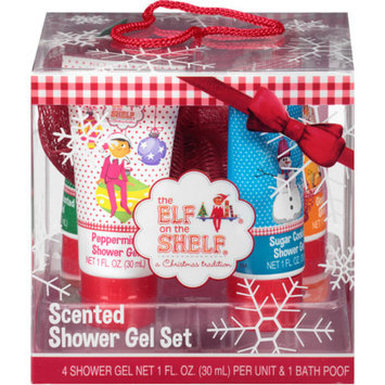 ELF ON THE SHELF Lotta Luv The Elf on the Shelf Scented Shower Gel Gift Set, 5 pc