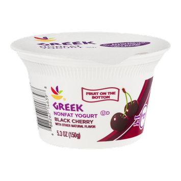 Ahold Greek Nonfat Yogurt Black Cherry