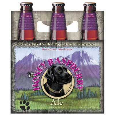 Spanish Peaks Honey Raspberry Ale, 12 fl oz, 6 pack