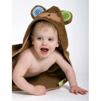 Zoocchini 11205 Max the Monkey Hooded Towel - 30 x 30 in.