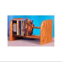 Wood Shed Dowel CD Rack w 1 Row (Honey Oak)