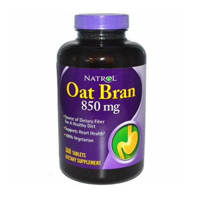 Natrol Oat Bran 850 mg 360 Tablets