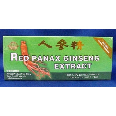 GBL Global 20 Year Old Red Panax Ginseng Extract -Extra Strength- 10ml X 30 Bottles - Value Pack