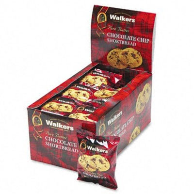 Walkers Shortbread Chocolate Chip , 2-Count Cookies (Count of 24)