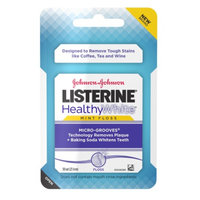 LISTERINE Healthy White Floss, Mint, 1 ea