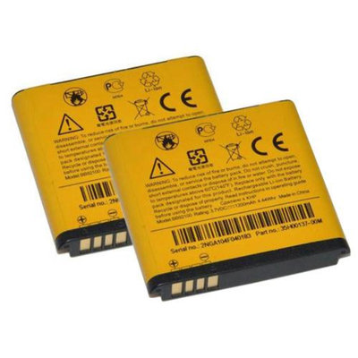 Replacement Battery For HTC BB92100 (2 Pack)