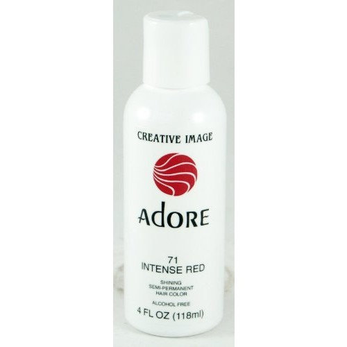 Adore Creative Image Hair Color 71 Intense Red Reviews 2019