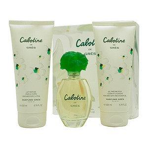 Cabotine by Parfums Gres Set for Women: Eau de Toilette Spray 3.4oz