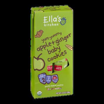 Ella's Kitchen Baby Cookies Apple + Ginger