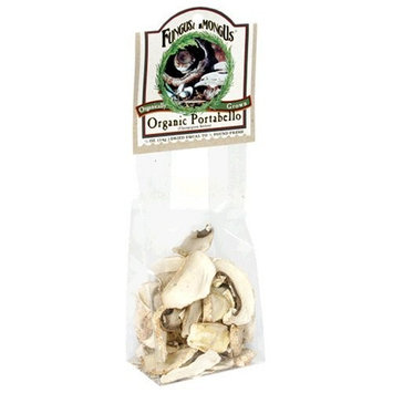 FungusAmongUs Dried Mushrooms, Organic Portabello, 0.5-Ounce Units (Pack of 4)