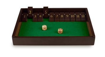 Sunnywood, Inc. Sterling Games Wooden Shut the Box Game ~ 12 Numbers
