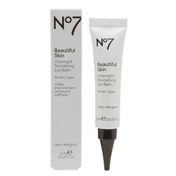 Boots No7 Beautiful Skin Overnight Revitalizing Eye Balm