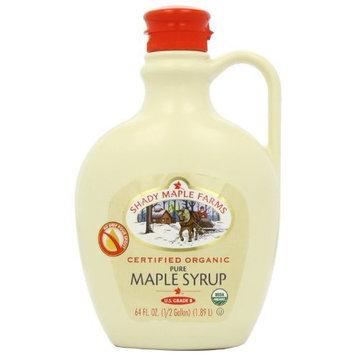Shady Maple Farms Pure Maple Syrup, Grade B, 64-Ounce