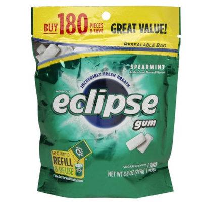 Eclipse Sugar Free Gum, Spearmint, 180 ea