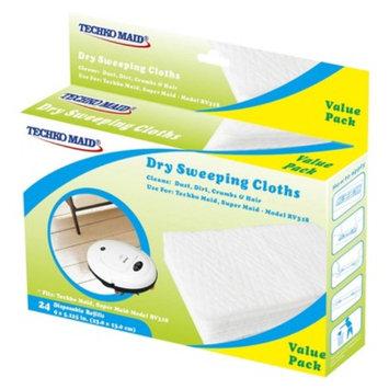 Techko Maid 2pk Dry Disposable Sweeping Cloths 24pc