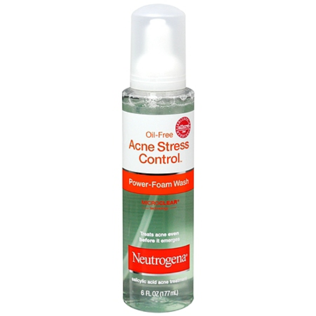Neutrogena Oil-Free Acne Stress Control Salicylic Acid Acne Treatment