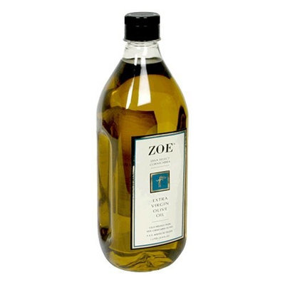 Zoe Diva Select 100% Cornicabra Extra Virgin Olive Oil, 1-Liter Jug (Pack of 2)