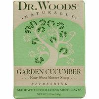 Dr. Woods Bar Soap Garden Cucumber 5.25 oz