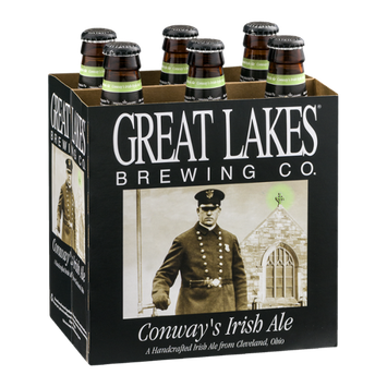 Great Lakes Brewing Co. Conway's Irish Ale - 6 CT