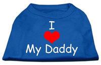 Ahi I Love My Daddy Screen Print Shirts Blue XXL (18)