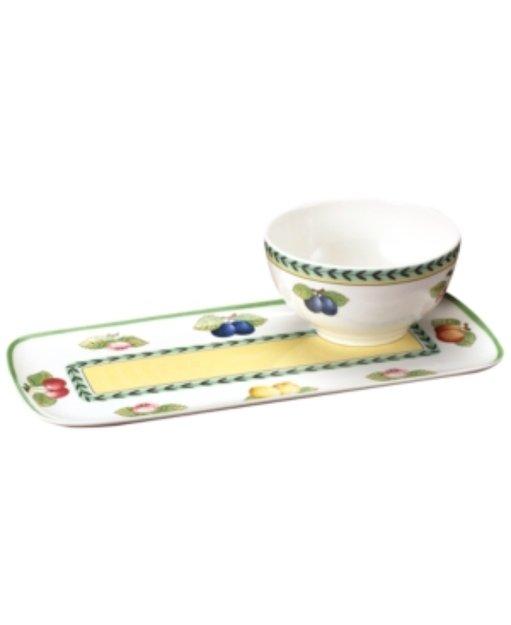 Villeroy & Boch Dinnerware, French Garden Soup and Sandwich Set