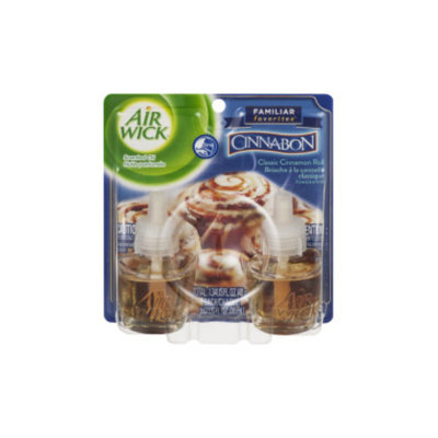 Airwick Air Wick Scented Oil Refill Twin Pack - Cinnabon