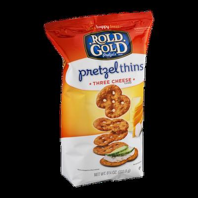 Rold Gold® Pretzel Thins Three Cheese