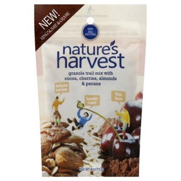 Nature's Habit Granola Trail Mix with Cocoa, Cherries, Almonds and Pecans, 4-Ounce Pouches (Pack of 12)