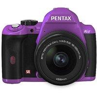 Pentax K-r 12.4MP DSLR Camera Bundle w/ 18-55mm Lens, 3
