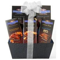 Wine.com Ghirardelli Intense Dark Chocolate Gift Basket