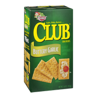 Keebler Club Crackers Buttery Garlic