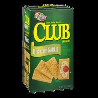 Keebler Club Crackers Buttery Garlic