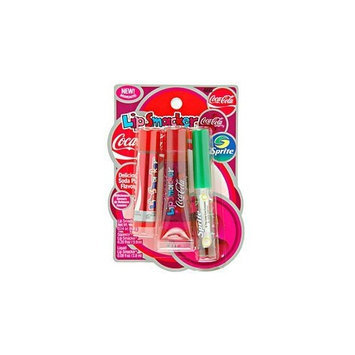 Bonne Bell Lip Smacker, Soda Pop Flavors! Coca-Cola Flavor Collection of Lip Glosses, Coca-Cola Classic, Coca-Cola Cherry and Sprite (1 Pack)