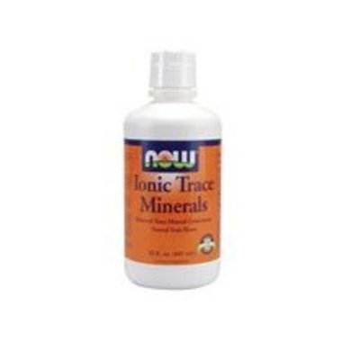 NOW Foods Ionic Trace Minerals, 32 Ounces