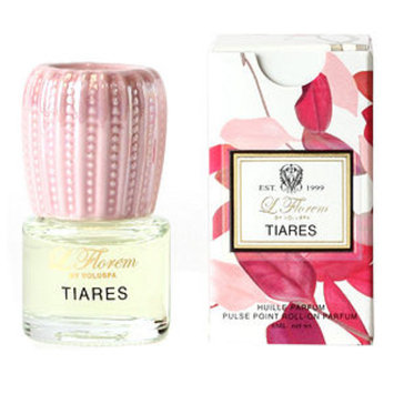 Voluspa L.Florem Collection, Pulse Point Roll-On Parfum, Tiares, .2 fl oz