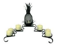 Sandhill Pineapple Candelabra with Votive
