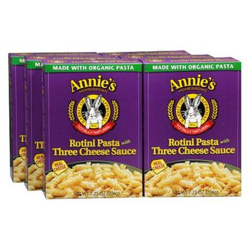 Annie's Homegrown Rotini Pasta with Cheese 6 Pack