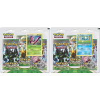 Beckett Publications Pokemon XY10 Fates Collide 3 Pack Blister Trading Card Game