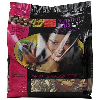 F.M.BROWN'S F.M. Brown's Nutrition Plus Supreme Parrot and Macaw Food, 5-Pound