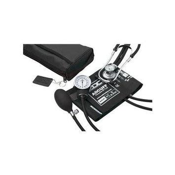 ADC Pro's Combo II Sphygmomanometer / Sprague Rappaport Stethoscope Kit, Burgundy