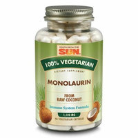 Health From The Sun Monolaurin 100 Percent Vegetarian 90 Vcaps