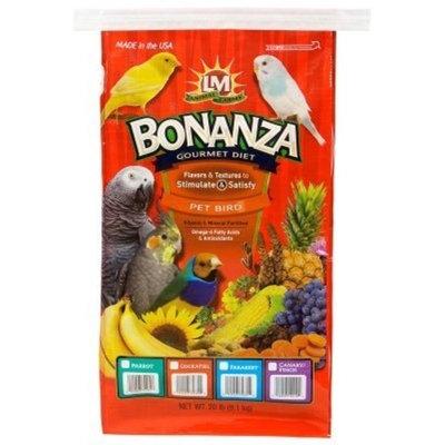Lm Animal Farms Bonanza Gourmet Parakeet Diet Food Size: 20 lbs