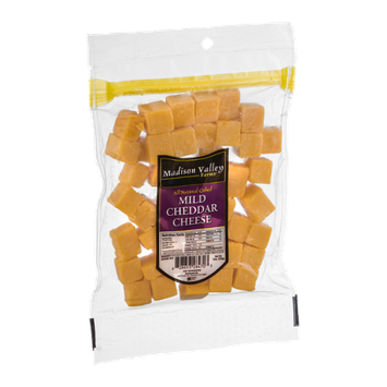Madison Valley Farms Mild Cheddar Cheese Cubed